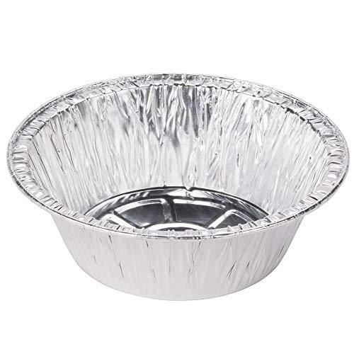 (Pot Pie Tins Disposable Foil 50 Extra Deep Pans 5-3/4