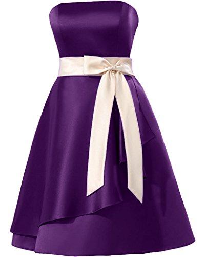 Missdressy - Vestido - plisado - para mujer Lilla