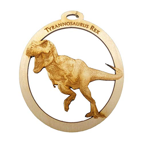 TRex Ornament - Tyrannosaurus Rex Christmas Ornament - Dinosaur Christmas Ornament -