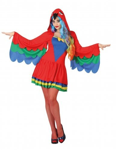 atosa 26927Parrot Women's Costume by (Womens Parrot Costume)