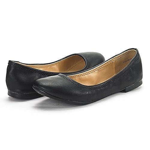 508597b244a3 Dream Pairs Women s Sole Happy Ballerina Walking Flats Shoes 60%OFF ...