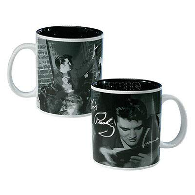 Vandor 47162 Elvis Ceramic Mug, Wertheimer Autograph, Multicolored, ()