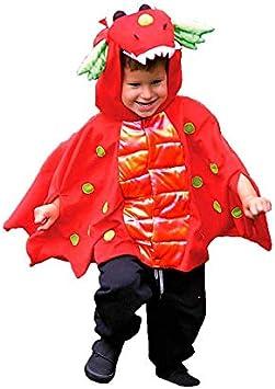 DISBACANAL Disfraz dragón de Fuego - -, 2-3 años: Amazon.es ...