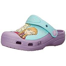 crocs Frozen Elsa and Anna Clog (Toddler/Little Kid)