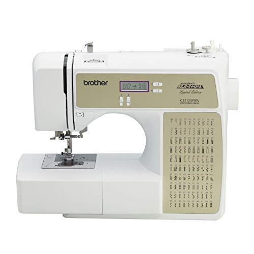 Brother CE1125PRW Computerized 100-Stitch Project Runway Sewing Machine (Renewed)