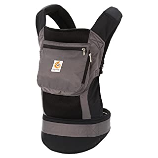 Ergobaby Original Cool Air Mesh Performance Ergonomic Multi-Position Baby Carrier with X-Large Storage Pocket, Charcoal Grey (B005WGP2Y6) | Amazon price tracker / tracking, Amazon price history charts, Amazon price watches, Amazon price drop alerts