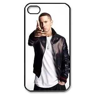 Eminem Popular Singer Iphone 4,4s Case Plastic New Back Case by mcsharks