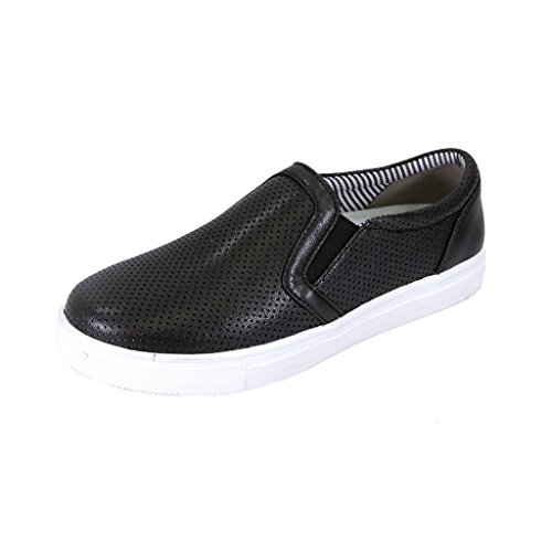 Women's 7 Comfort Mila Wide FIC FUZZY BLACK Loafer 5 Width E8wqgPgf