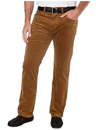 5 Pocket Corduroy Pants (Kirkland Signature Men's 5-Pocket Corduroy Pant (30 x 30, Nut))
