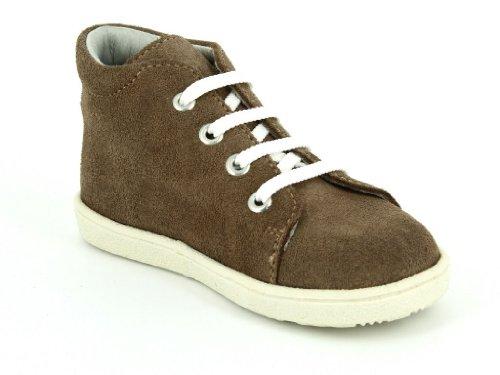 Däumling Polly - Zapatos Para Gatear de cuero bebé, color beige, talla 23