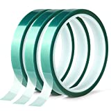 3 Roll Polyester High Temperature Masking Tape, PET