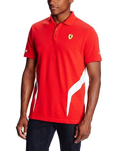 - PUMA Ferrari Polo Shirt, Rosso Corsa, X-Large