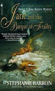 Jane and the Barque of Frailty par Stéphanie Barron