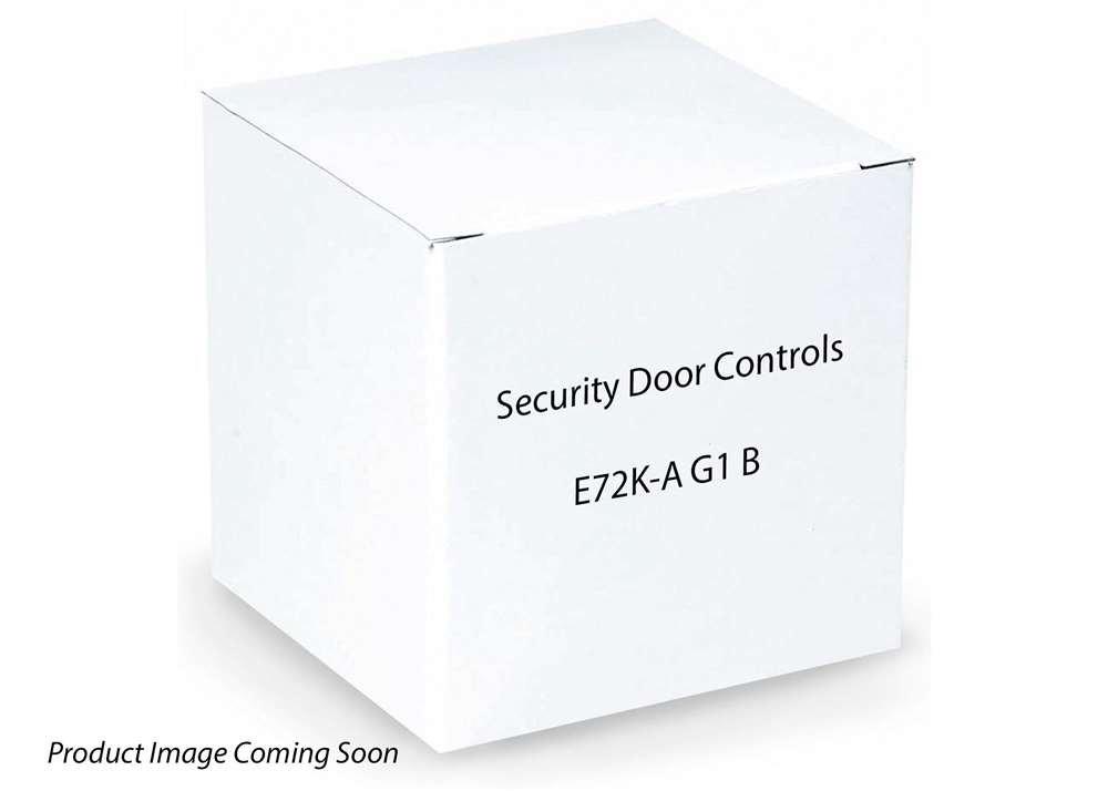 SDC SECURITY DOOR CONTROLS E72KAG1B E72-32 GALEXY STD CYL BLACK