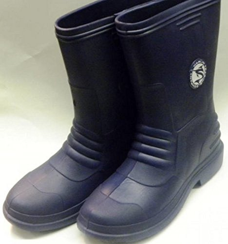 Marlin Blue Deck Boots Size: 10 (Fishing Marlin Blue)