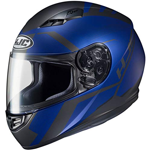 HJC Helmets CS-R3 Helmet - Faren (LARGE) (BLACK/BLUE)