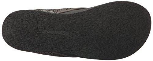 Skechers Usa Mens Pelag Emiro Flat Sandal, Carboncino, 12 M Us