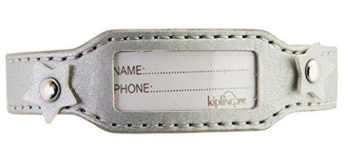 Price comparison product image Kipling Kids Silver Leather Bracelet Identification