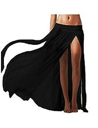 Amknn Beach Bikini Covers Sexy Long Skirt Cover Ups Bohemian Skirts