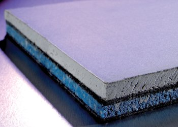 Advanced Acoustics QuietPanel Wall Soundproofing Board 1.2m by 1.2m by 28mm thick
