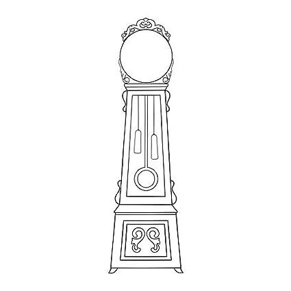 IKEA MORTORP - pegatinas de decoración, Reloj de suelo