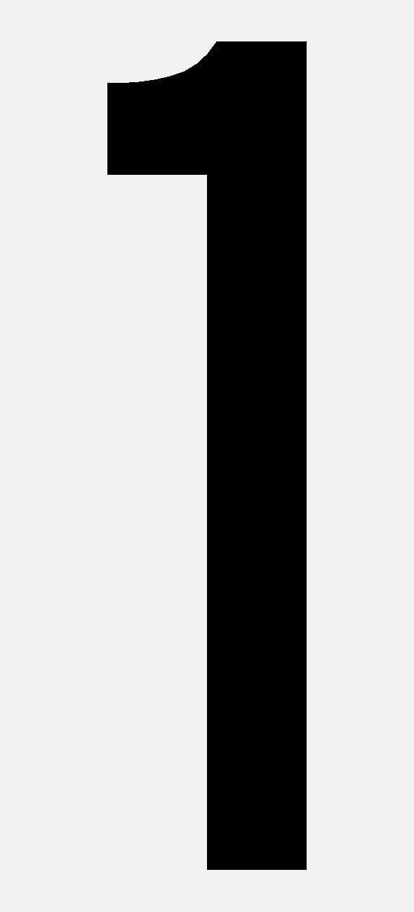 schwarze,selbstklebende Ziffer 0 10cm seewasserfest Bootskennzeichnung f/ür Innen und Au/ßen Hausnummer