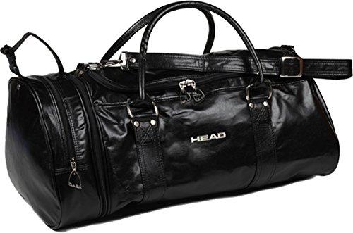 Head Bag Monte Carlo 901987 Gym Travel Casual Classic Holdall Bag Black 181 by HEAD