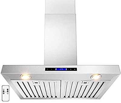 "GOLDEN VANTAGE 30"" Wall Mount Stainless Steel Range Hood With Gas Sensor & Remote GV-Z01-30"