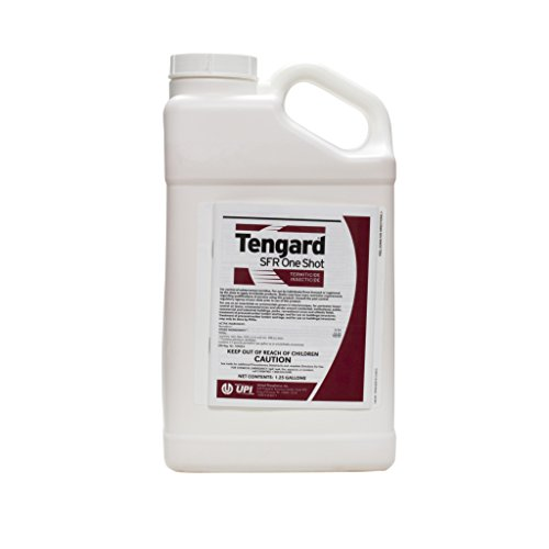 Tengard SFR 36.8 % Permethrin Insecticide / Termiticide 1.25 Gallon ~~ Kill Termites Fleas Ticks Roaches Ants Mole Crickets Ching Bugs and Many More Pests Used By Many Pros!! (Best Insecticide For Termites)