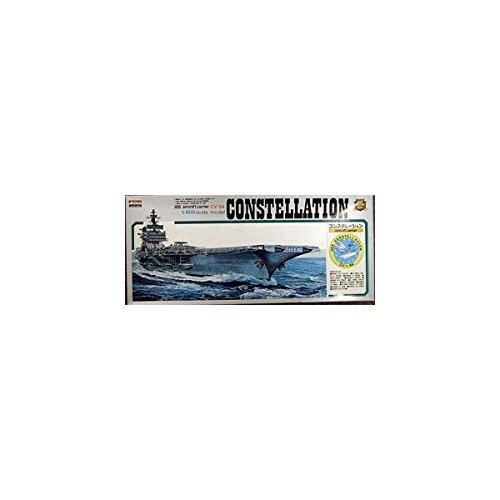 - 1/800 Battleship USS No.7 aircraft carrier Constellation (japan import)