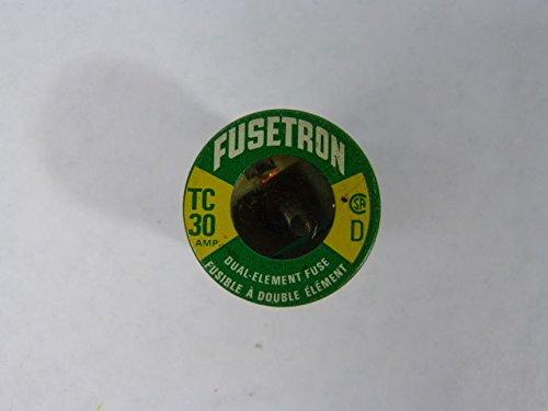 Fusetron Plug Fuse - Buss Fusetron TC-30 Glass Plug Fuse 30amp