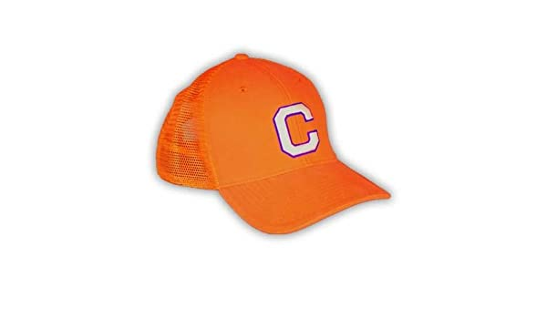 a76b51351ea03 ... get amazon clemson tigers mens block c mesh snapback hat sports  outdoors 317d0 a47e7