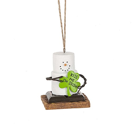 S'mores Original 2017 Kiss Me I'm Irish Ornament