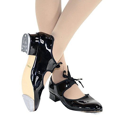 Flexibale Patent Adult Black Danzcue Shoes Tap agE6x0q