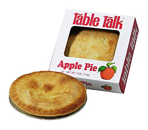 Table Talk Pie, Snack pies, 4oz - Pack of 2 (Apple) made in New England