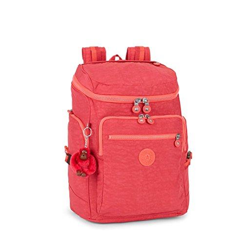 Kipling Unisex Upgrade Large Backpack With Laptop Protection Punch Pink C by Kipling