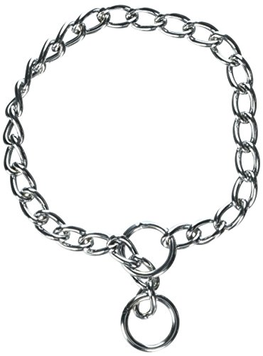 (Coastal Pet Products DCP554020 Titan X-Heavy Chain Dog Training Choke/Collar with 4mm Link, 20-Inch, Chrome )