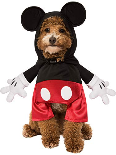 Rubie's Disney: Mickey & Friends Pet Costume, Mickey Mouse, Small