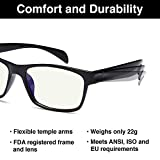 Gamma Ray Blue Light Blocking Reading Glasses