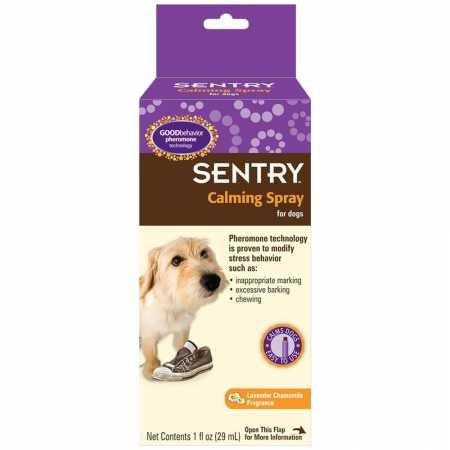 SENTRY GOOD behavior Calming Spray for Dogs, 1 oz by SENTRY Pet Care