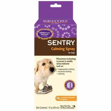 SENTRY GOOD behavior Calming Spray for Dogs, 1 oz