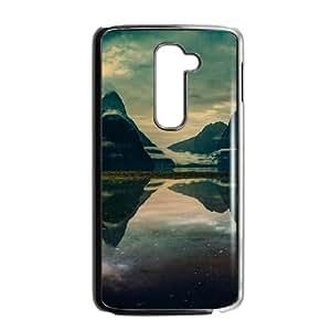 LG G2 Cell Phone Case Black_Milford sound morning Rzdeb
