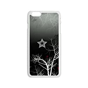 Artistic Tree Branch White Phone Case for Iphone6