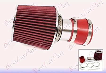 "RED Filter  3/"" 04-08 Grand Prix 3.8 V6 Racing Air Intake"
