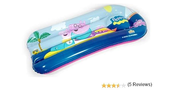 Peppa Pig - Colchoneta Hinchable (Saica Toys 9112): Amazon.es ...