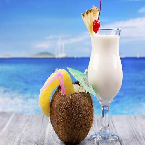 (PINA COLADA FRAGRANCE OIL - 4 OZ - FOR CANDLE & SOAP MAKING BY VIRGINIA CANDLE SUPPLY - FREE S&H IN USA)