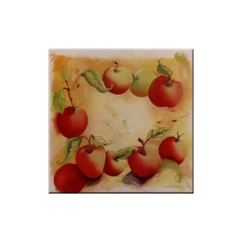 OKSLO Mcgowan tuftop apples trivet