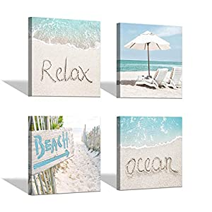41xlddjtRKL._SS300_ Beach Wall Decor & Coastal Wall Decor
