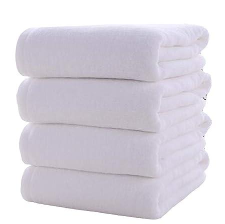 Mhrzb-toalla Toallas, algodón Absorbente Suave de Cuatro Piezas ...