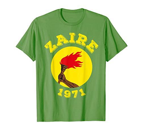 (Zaire Flag Shirt)